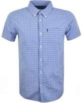 Barbour Newton Gingham Shirt Blue