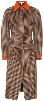 MATÉRIEL Checked coat