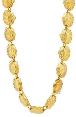 TOHUM DESIGN Women's Beach Shell Necklace - Gold