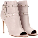 Valentino Garavani Rockstud peep-toe ankle boots