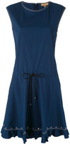 Fay sleeveless drawstring dress - women - Cotton/Spandex/Elastane - M