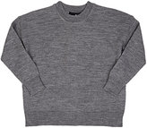 Little Remix Wrap-Back Merino Wool Sweater