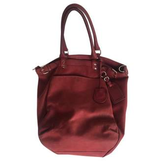 Vanessa Bruno Lune Burgundy Leather Handbags