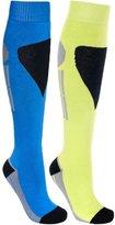 Trespass Mens Shack Long Length Two Tone Ski Tube Socks