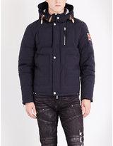 True Religion Hooded Cotton-blend Jacket