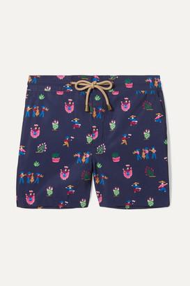 Thorsun Kids - Zeus Printed Swim Shorts - Navy