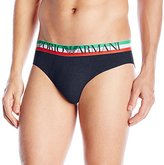 Emporio Armani Men's Italian Logobrand Cotton Stretch Brief