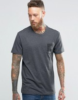 The North Face T-Shirt With Pocket Box Logo In Gray