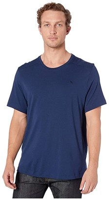 Tommy Bahama Crew Neck T-Shirt (Medieval Blue) Men's Clothing