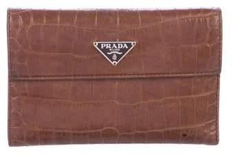 f7e7c0c3c4dfa3 Prada Crocodile Handbags - ShopStyle