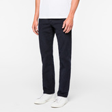 Paul Smith Men's Navy Stretch-Cotton Corduroy Trousers