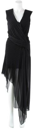 Issa Black Polyester Dresses