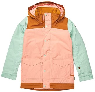 Burton Elstar Parka Jacket (Little Kids/Big Kids) (Dahlia/Faded Jade) Girl's Coat