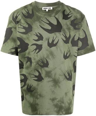 Mcq Swallow swallow-print T-shirt