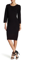 Taylor Ribbed Knit Sheath Dress