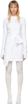 Off-White White Mariacarla Wrap Dress