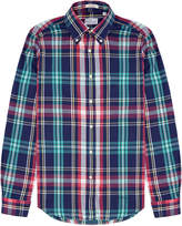 Gant Blue Windblown Flannel Shirt