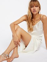 Free People Tiger Coin Pearl Drape Anklet
