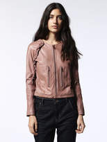 Diesel DieselTM Leather jackets 0HANI - Pink - M