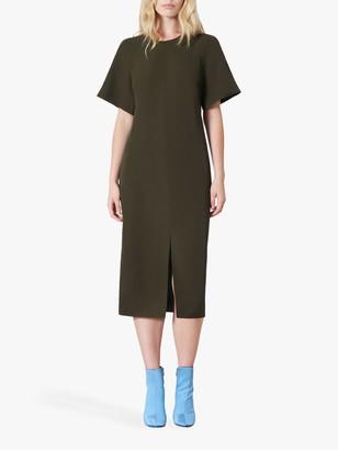 Finery Cedar Shift Dress, Khaki