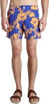 Vilebrequin Flower & Whale Swim Trunks
