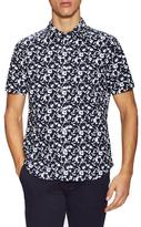 Jack Spade Clift Splatter Print Sportshirt