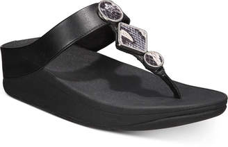FitFlop Leia Toe-Thong Sandals Women Shoes