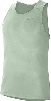 Nike Rise 365 Tank Top (Pistachio Frost/Reflective Silver) Men's Clothing
