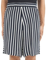 McQ by Alexander McQueen Striped Relaxed Fit Shorts