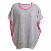 Cove Eva Grey & Pink Cashmere Jumper