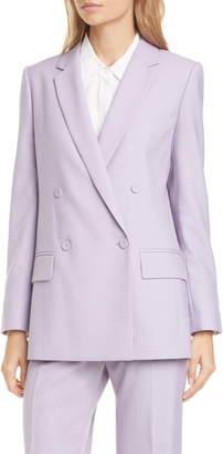 Club Monaco Sidra Double Breasted Suit Jacket