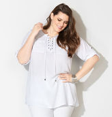 Avenue Lace-Up Pocket Tunic