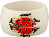 Kenneth Jay Lane Resin Ladybug Cuff