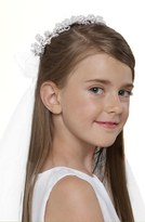 Us Angels Wreath with Removable Veil (Little Girls & Big Girls)