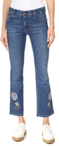 Stella McCartney Skinny Crop Kick Flare Jeans