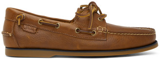 Polo Ralph Lauren Brown Boat Shoe Loafers