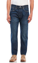 Levi's 501 Distressed Customized Taper Jeans