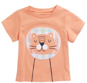 First Impressions Baby Boys Tiger Graphic Cotton T-Shirt, Created for Macy's