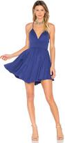 NBD Suki Mini Dress in Blue. - size L (also in )