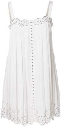 Catherine Malandrino White Cotton Dresses