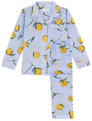 Little Yolke Lemon Print Pyjama Set (3-12 Years)