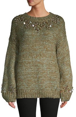 Allison New York Sequin-Embellished Crewneck Sweater