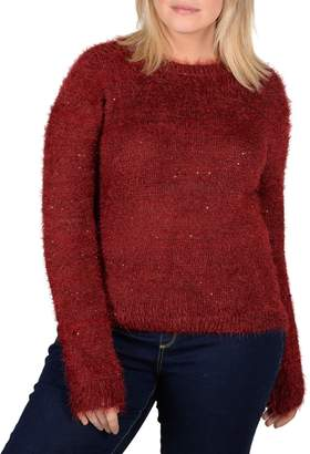 Gabrielle Plus Eyelash Pullover Sweater