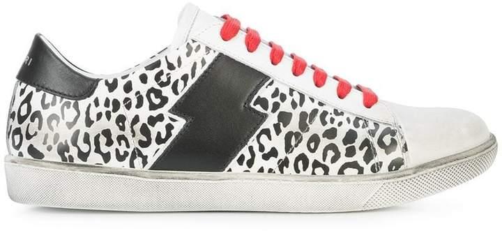 Amiri leopard print sneakers