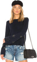 Autumn Cashmere Star Bell Sleeve Sweater