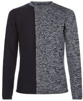 Armani Jeans Contrast Knit Sweater