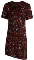 Etoile Isabel Marant Jade twist-front floral-print dress