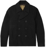 Joseph - Wool And Cashmere-blend Peacoat With Detachable Quilted Cotton Gilet