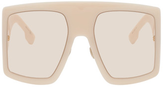 Christian Dior Beige DiorSoLight1 Sunglasses