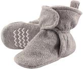 Hudson Baby Heather Gray Fleece-Lined Booties